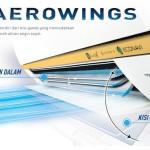 Fitur AC Panasonic Aerowings