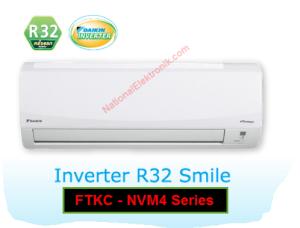 AC Daikin Inverter R32 tipe Smile FTKC Series