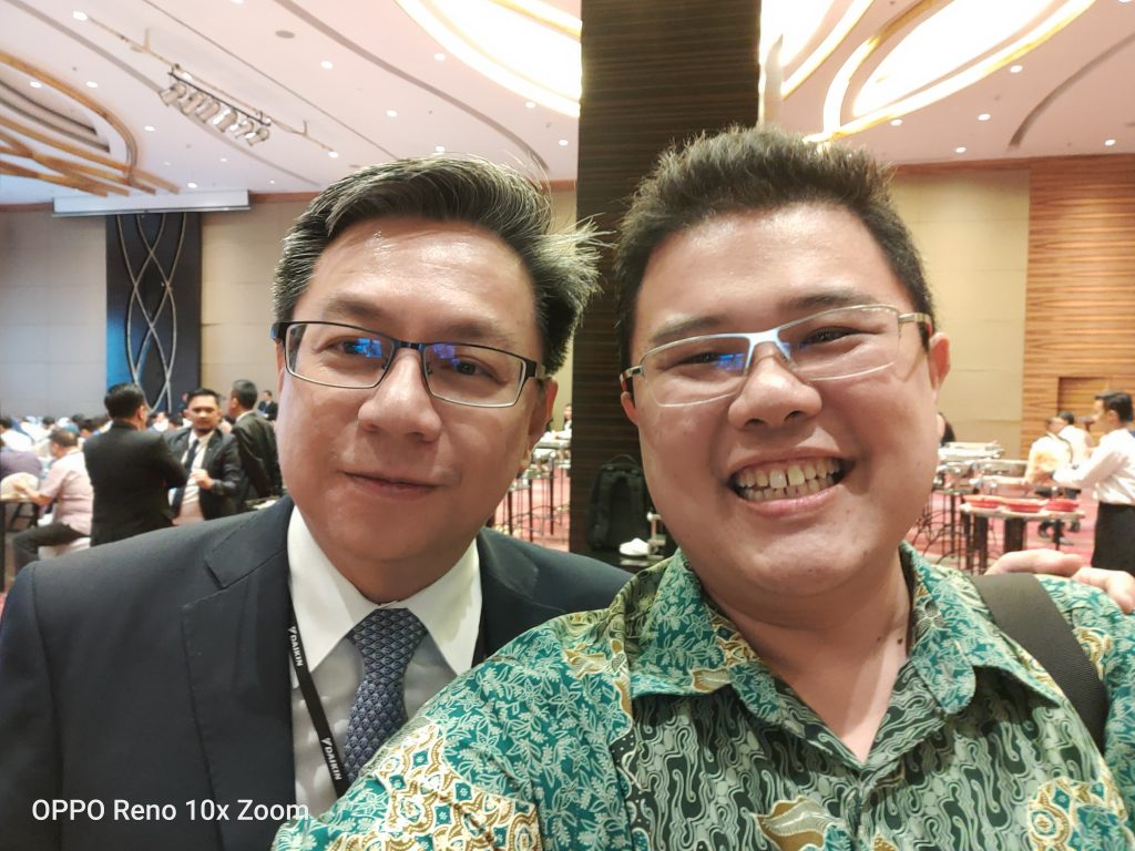 Photo with Mr Ching Presdir of Daikin Indonesia