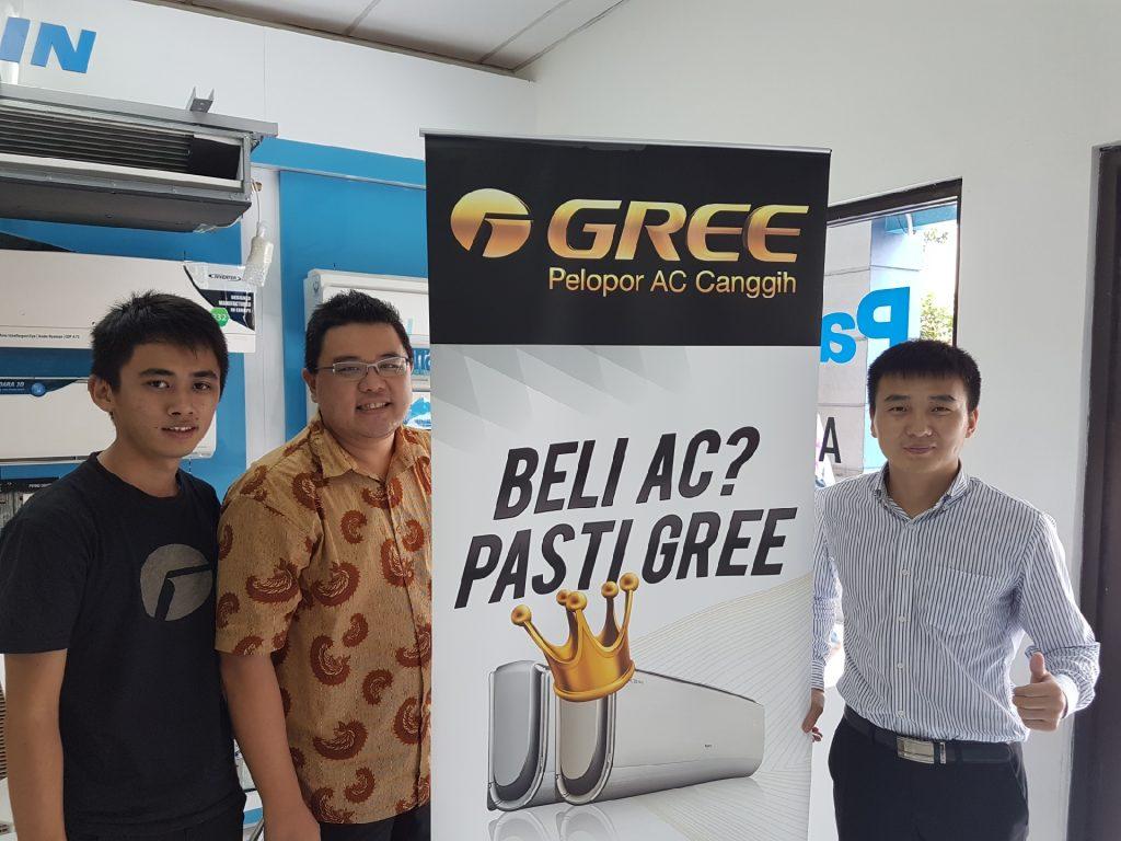 national elektronik dan AC Gree