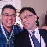 Foto dengan Mr. Yasufuku